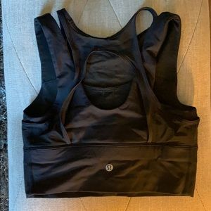 Lululemon high neck sports bra